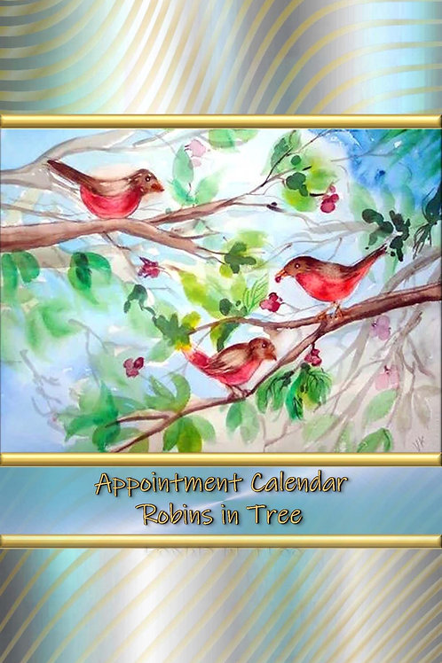 Appointment Calendar - Robins in Tree