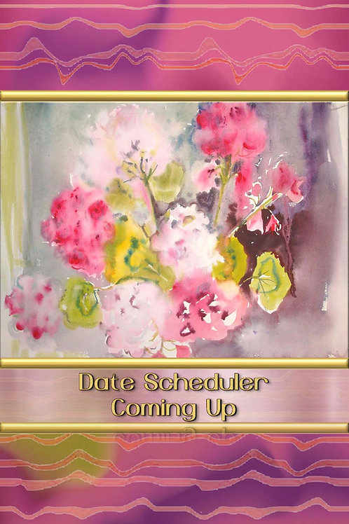 Date Scheduler - Coming Up