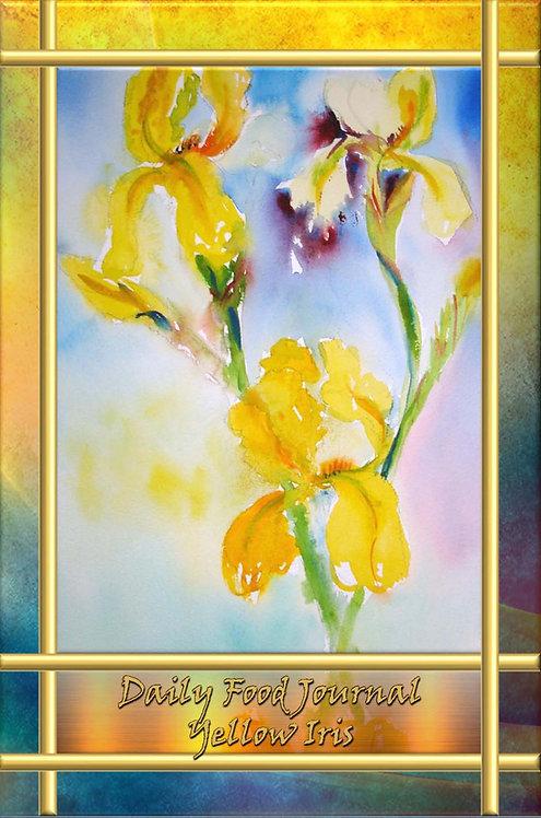 Daily Food Journal - Yellow Iris