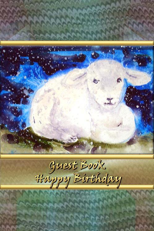 Guest Book - Happy Birthday