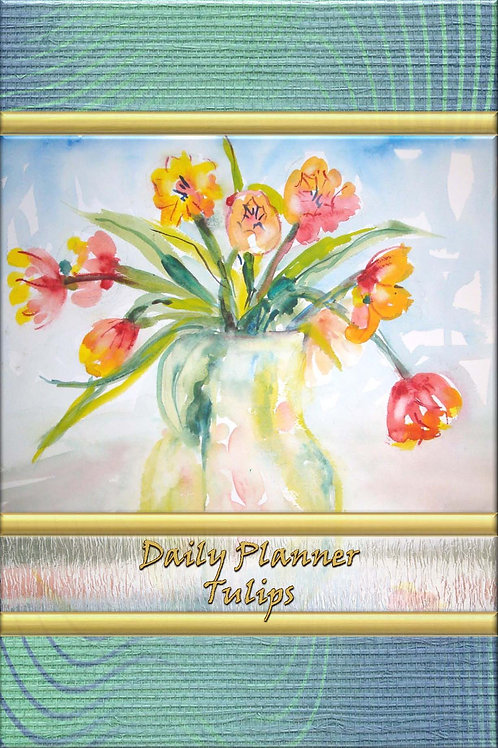 Daily Planner - Tulips