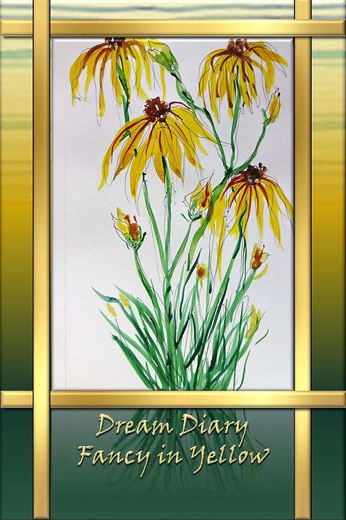 Dream Diary - Fancy in Yellow