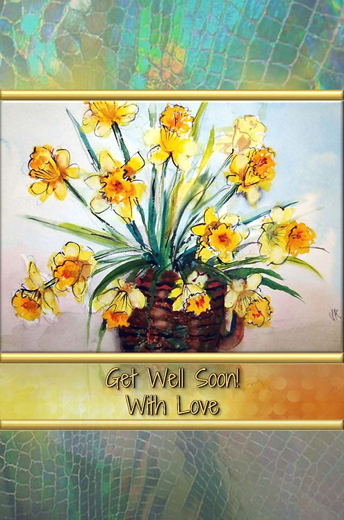Get Well Soon! - With Love