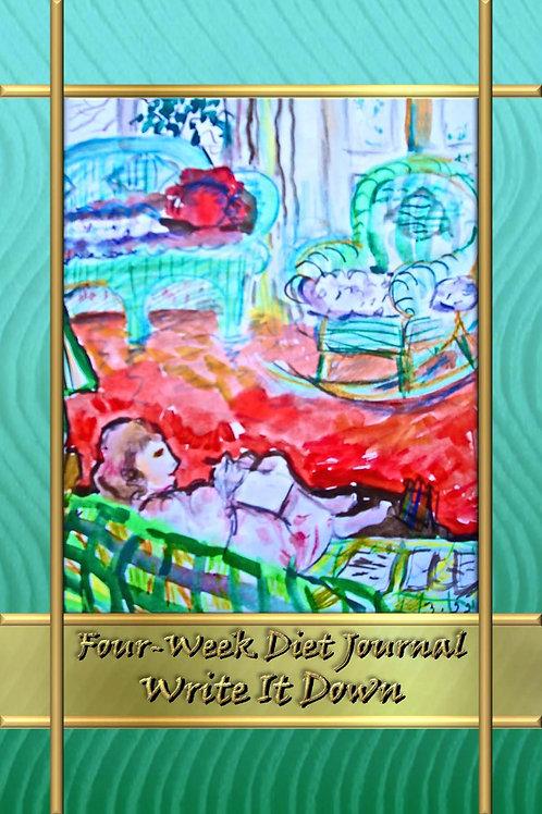 Four-Week Diet Journal - Write It Down