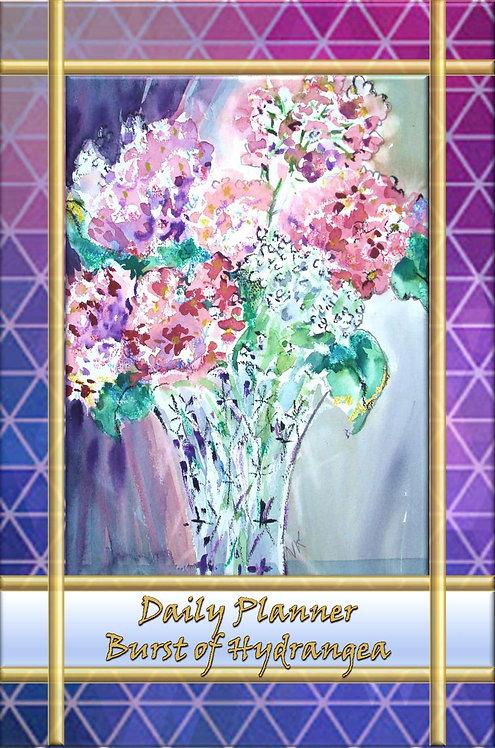 Daily Planner - Burst of Hydrangea