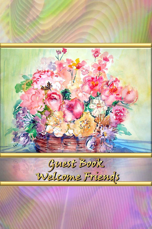 Guest Book - Welcome Friends