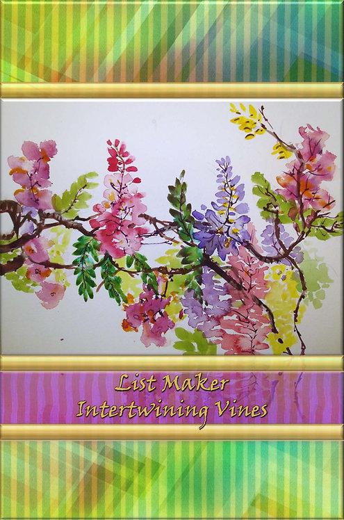 List Maker - Intertwining Vines