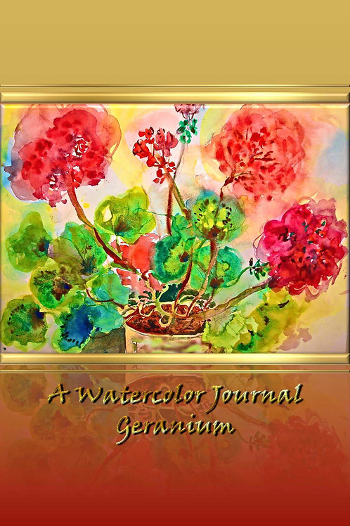 A Watercolor Journal - Geranium