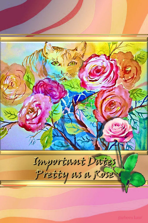 Important Dates - Pretty as a Rose