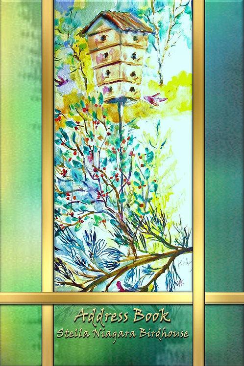 Address Book - Stella Niagara Birdhouse
