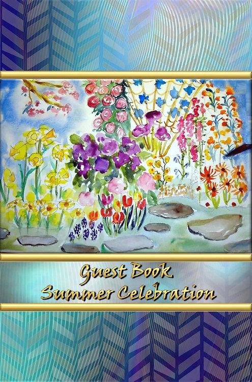 Guest Book - Summer Celebration