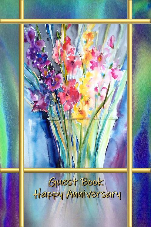 Guest Book - Happy Anniversary