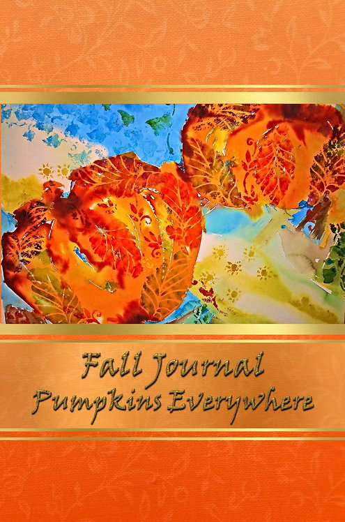 Fall Journal - Pumpkins Everywhere
