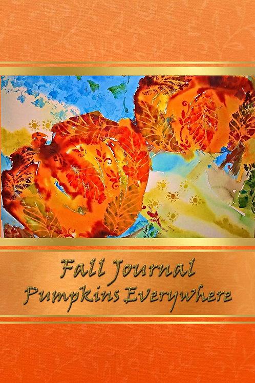Fall Journal - Pumpkins Everywhere