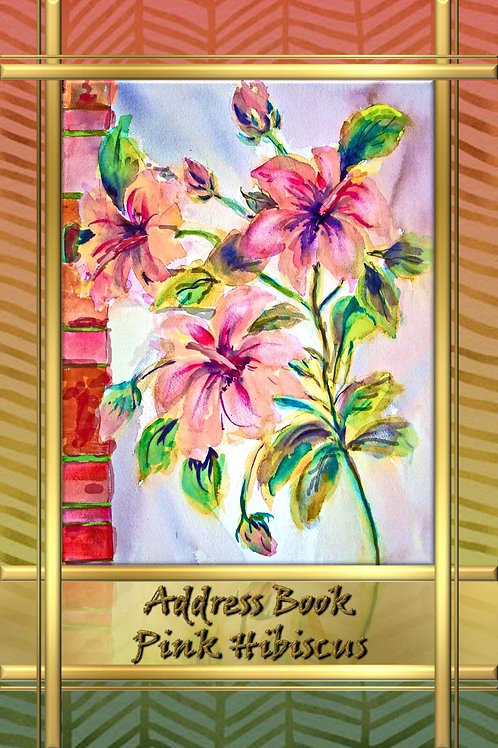 Address Book - Pink Hibiscus