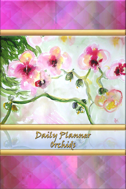 Daily Planner - Orchids