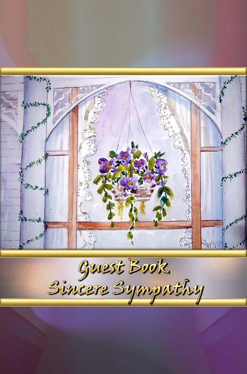 Guest Book - Sincere Sympathy