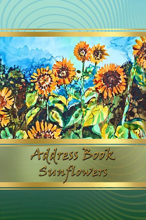 Address Books - Sunflowers