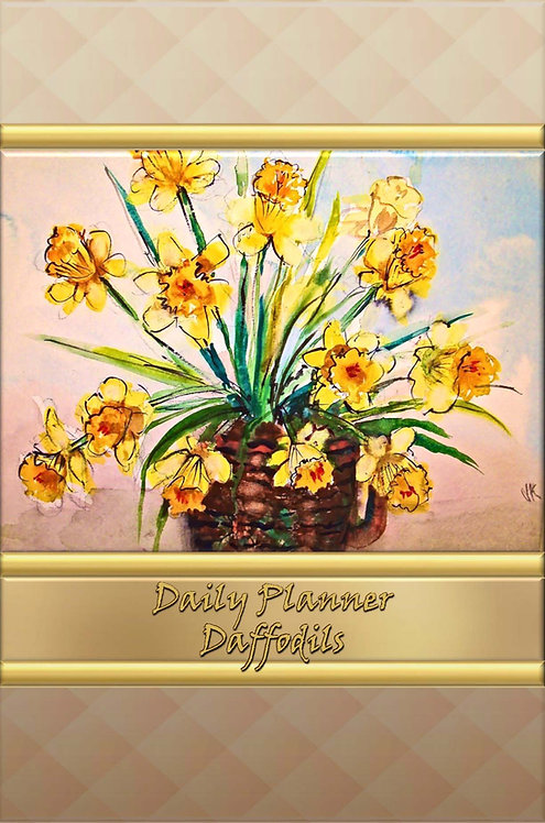 Daily Planner - Daffodils