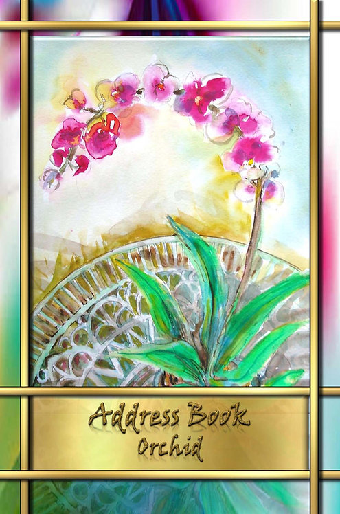 Address Book - Orchid