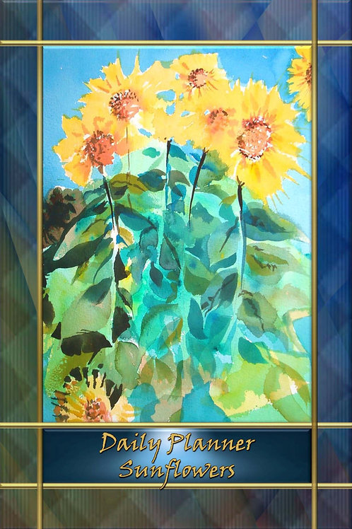 Daily Planner - Sunflowers