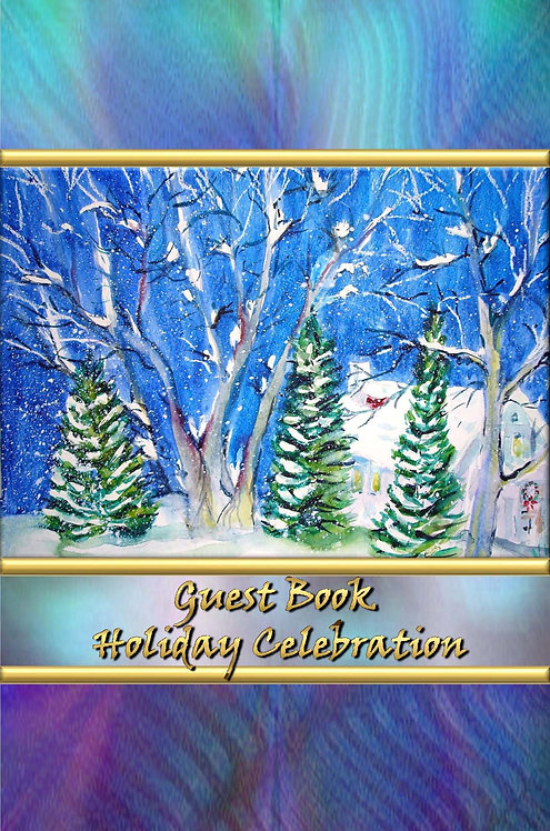 Guest Book - Holiday Celebration