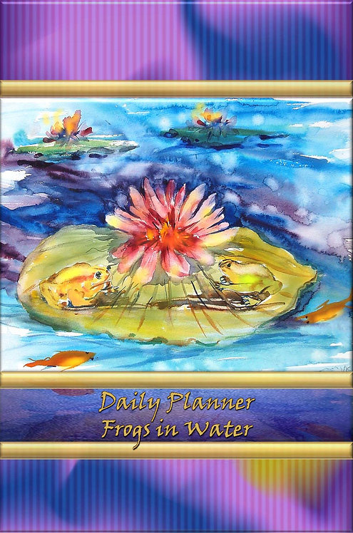 Daily Planner - Frogs in Water