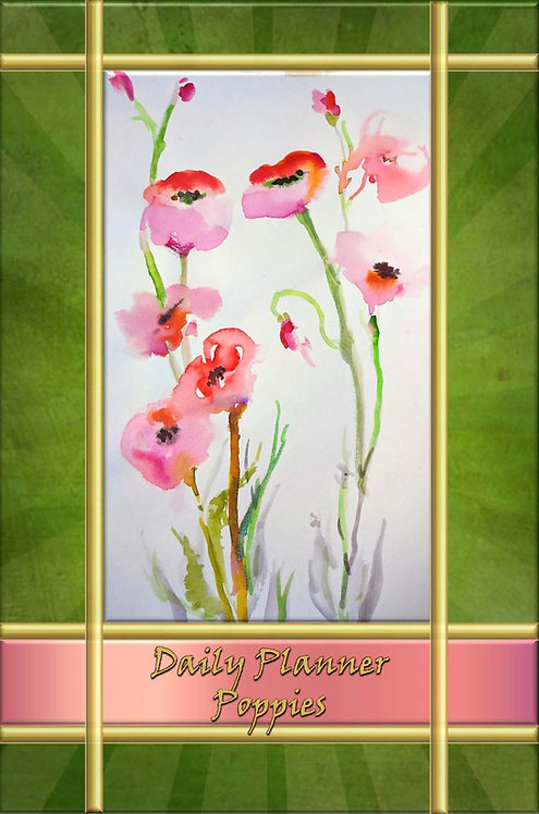 Daily Planner - Poppies