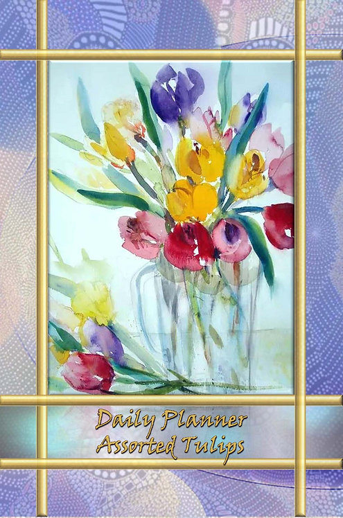 Daily Planner - Assorted Tulips