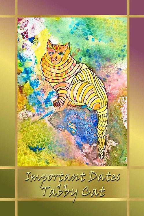 Important Dates - Tabby Cat