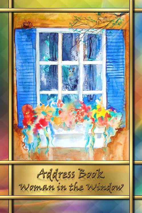 Address Book - Woman in the Window