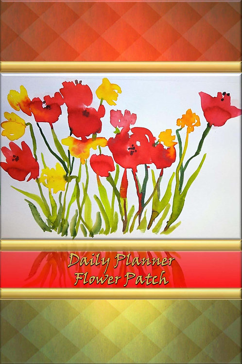Daily Planner - Flower Patch