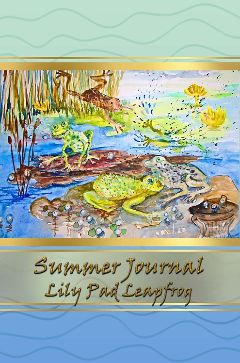 Summer Journal - Lily Pad Leapfrog