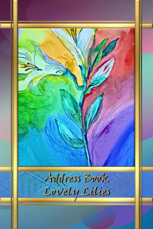 Address Book - Lovely Lilies