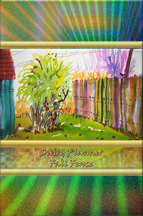 Daily Planner - Fall Fence