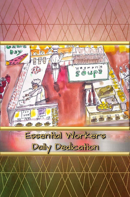 Essential Workers - Daily Dedication - Hardcover