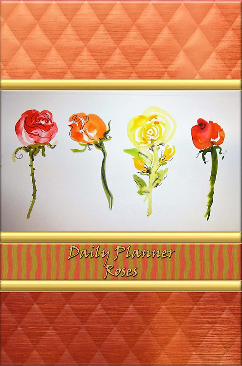 Daily Planner - Roses