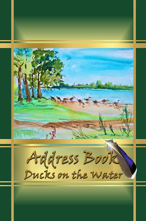 Address Books - Ducks on the Water