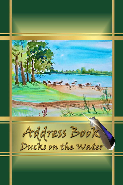 Address Books - Ducks on the Water