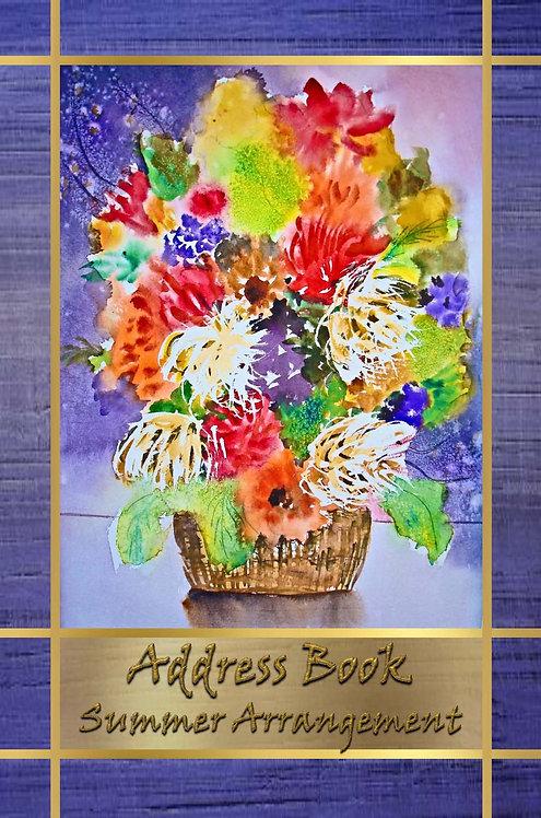Address Book  - Summer Arrangement