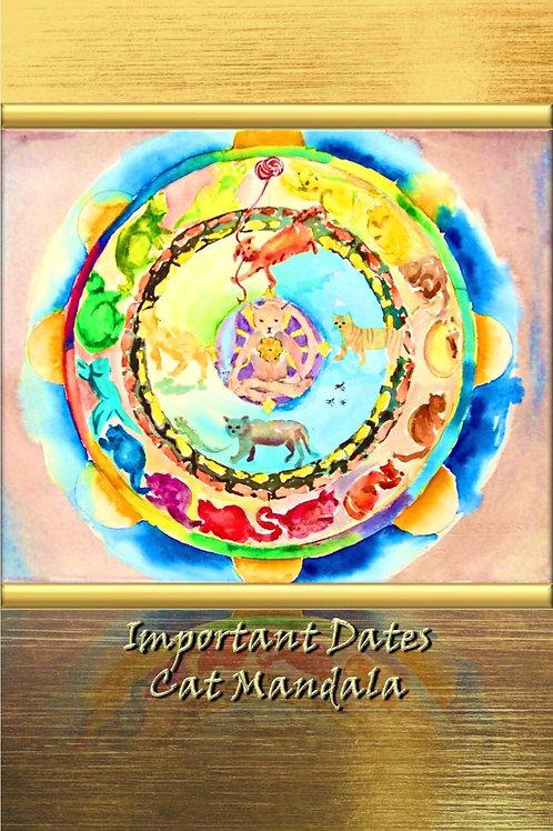 Important Dates - Cat Mandala