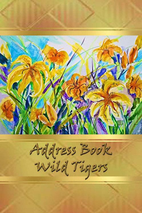 Address Book - Wild Tigers