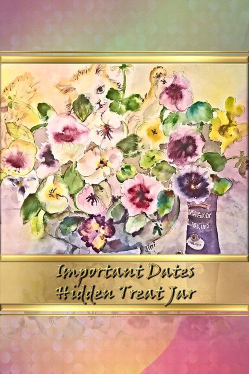Important Dates - Hidden Treat Jar