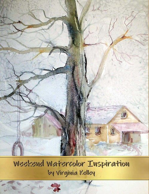 Weekend Watercolor Inspiration - Hardcover Edition
