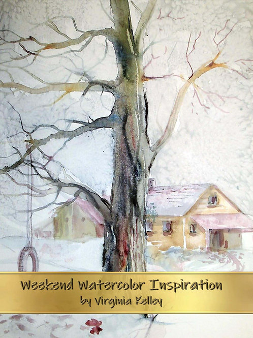 Weekend Watercolor Inspiration - Paperback Edition