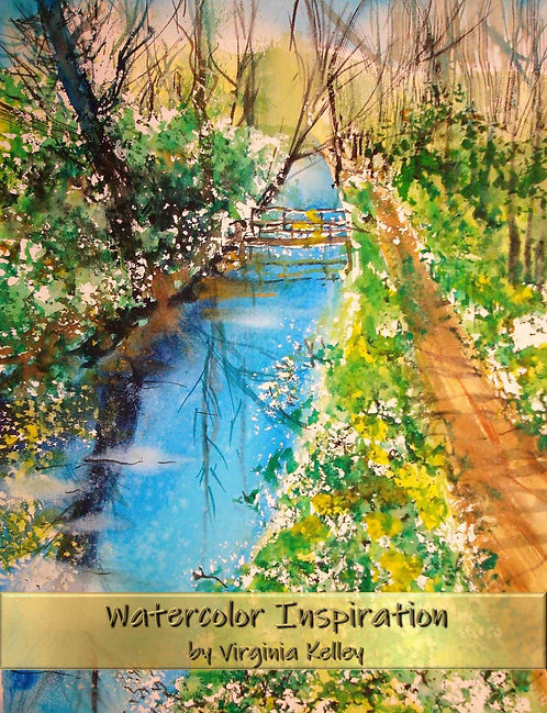 Watercolor Inspiration - Hardcover Edition