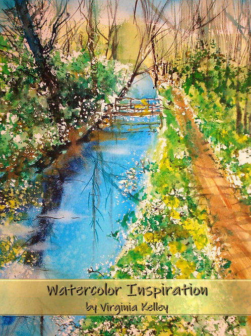 Watercolor Inspiration - Paperback Edition