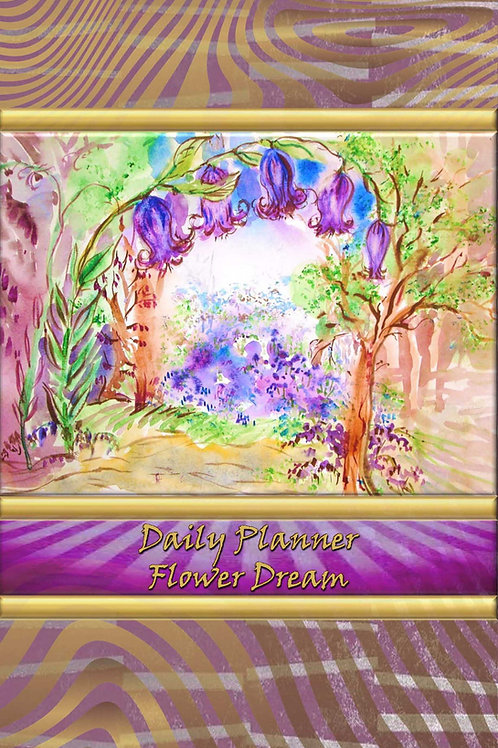 Daily Planner - Flower Dream