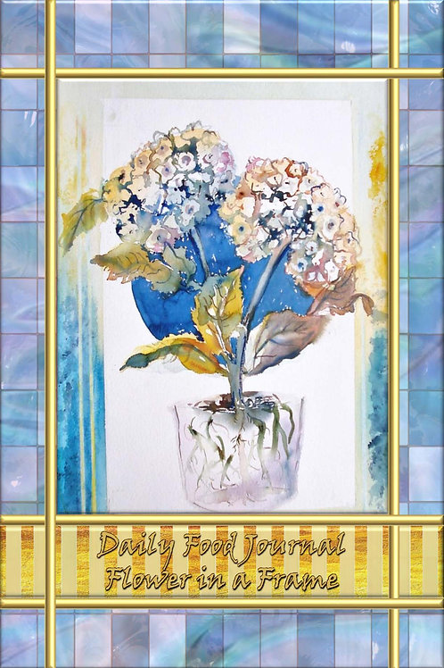 Daily Food Journal - Flower in a Frame