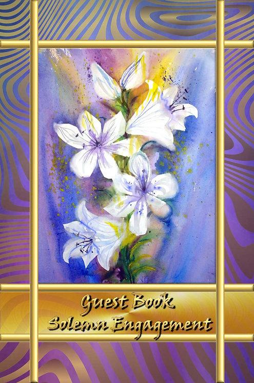 Guest Book - Solemn Engagement